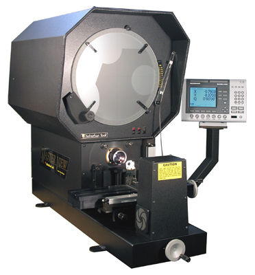 "MV-140-QRE Master-View 14"" Optical Comparator with Erect Image"